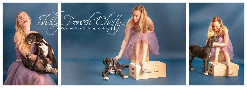 Pretty Dresses and Puppy Kisses – Katy Houston Pet Photographer